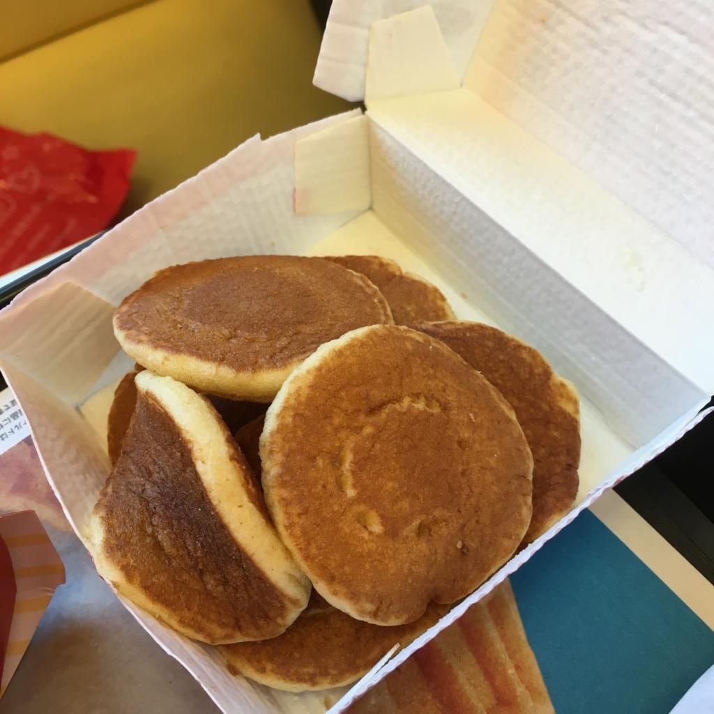 ハッピーセットパンケーキ
