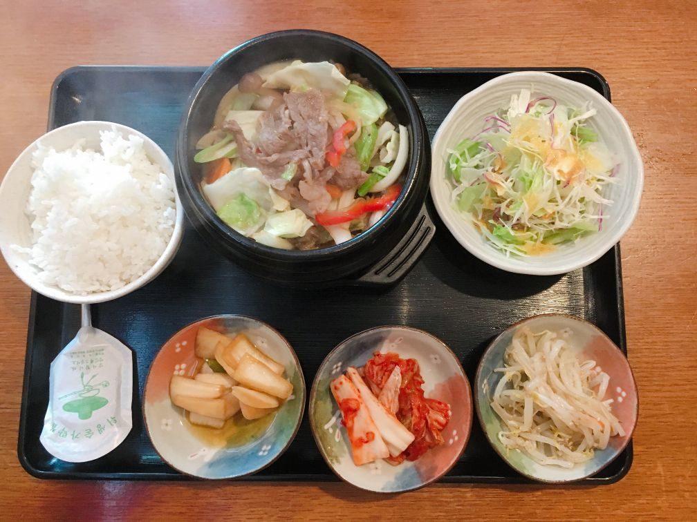 韓国の家のプルコギ