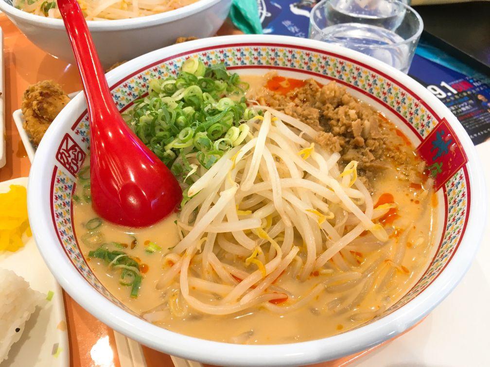 神座冷たい豆乳担々麺