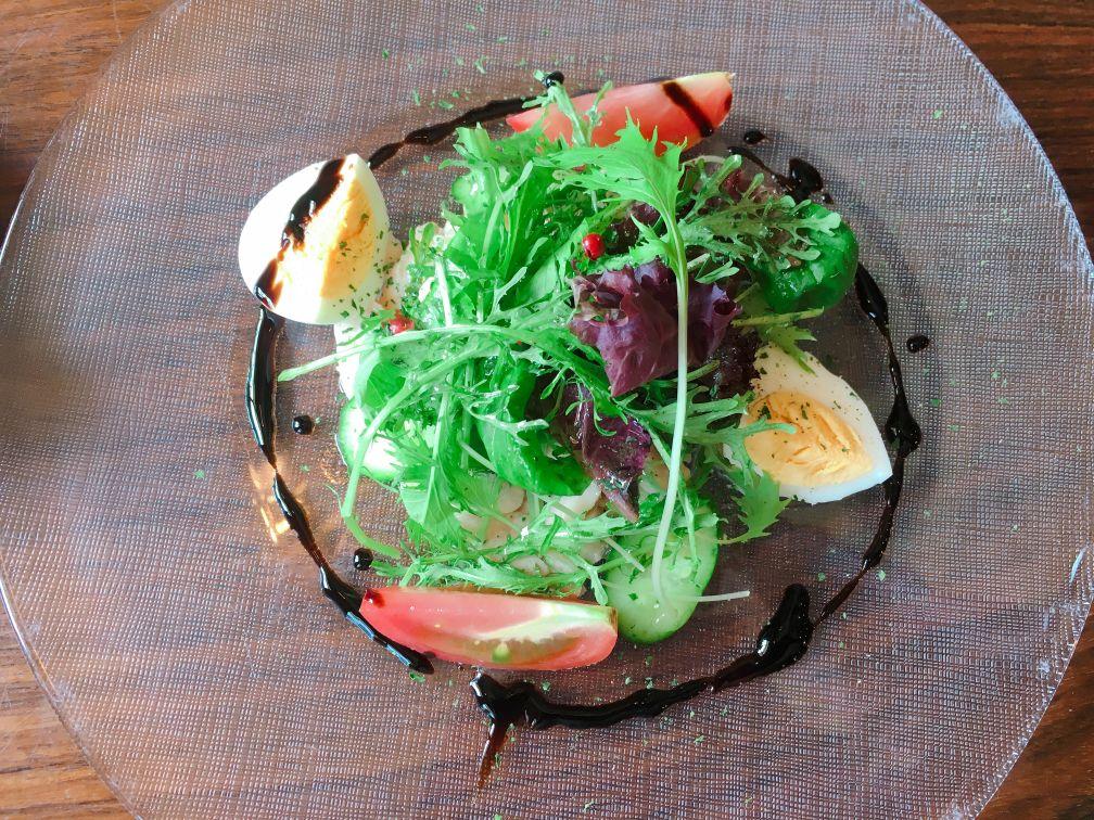 王様のフレンチ前菜サラダ